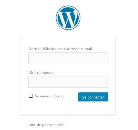 Wordpress se connecter | Comment se connecter à votre site WordPress ? | Blog-One