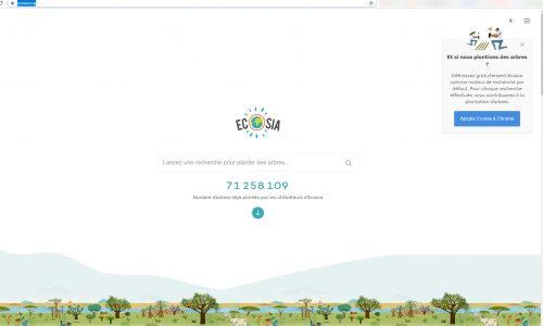 Blog-One : Comment référencer son site Internet sur Ecosia ?