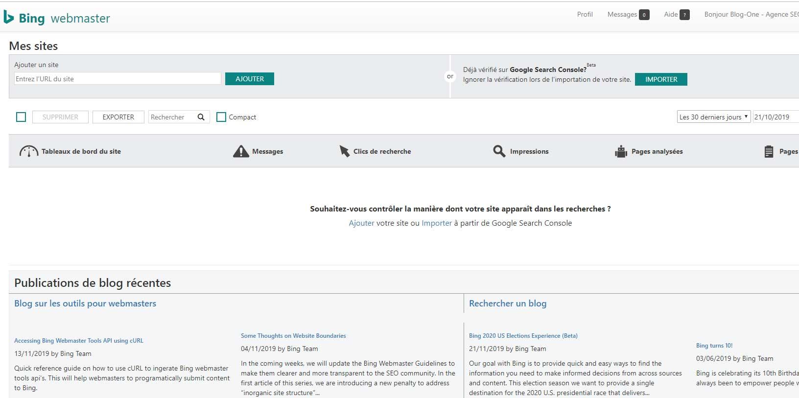 Comment indexer, référencer son site Internet sur Ecosia   Blog-One SEO